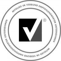 Logo Mitglied im Verbund empfehlenswerter Unternehmen